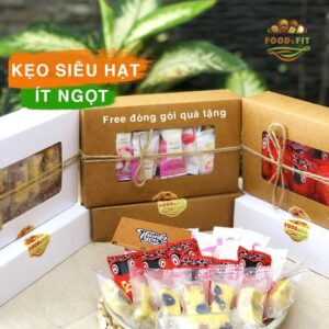 kẹo nougat by Food&Fit